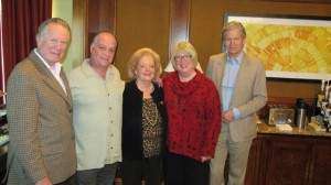 In early 2013, Dame Candy Wallace attended a meeting in San Francisco of the Executive Advisory Committee of the Escoffier Schools of Culinary Arts, which included Michel Escoffier.
